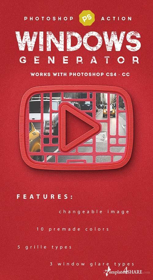 GraphicRiver Window Generator