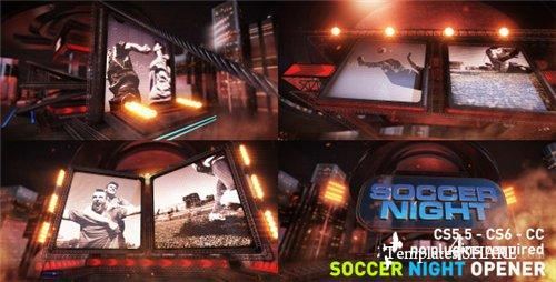Soccer Night Opener 8686953 - After Effects Project (Videohive)