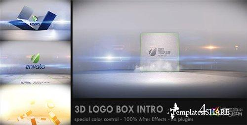 3D Logo Box Intro - After Effects Project (Videohive)
