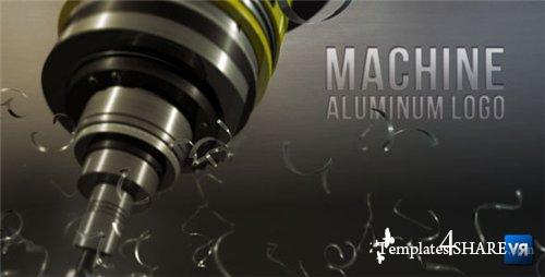 Machine aluminum logo - After Effects Project (Videohive)