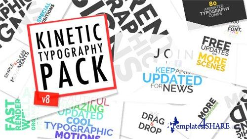 Kinetic Typographic Title Pack - After Effects Project (Videohive)