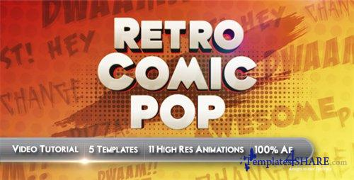 Retro Comic Pop - After Effects Project (Videohive)