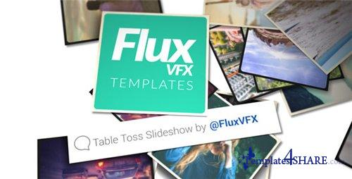 Table Toss Slideshow - After Effects Project (Videohive)