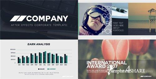 Clean Corporate Presentation - After Effects Project (Videohive)