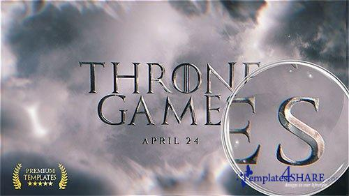 Throne Games Titles - After Effects Project (Videohive)