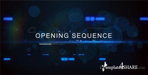 Digital Techno Opening Title - After Effects Project (Videohive)