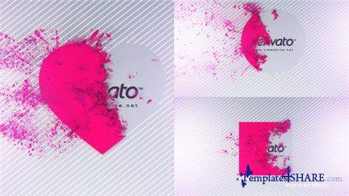 Disintegration Logo Reveal - After Effects Project (Videohive)