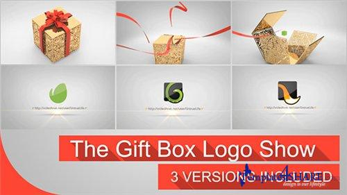 The Gift Box Logo - After Effects Project (Videohive)