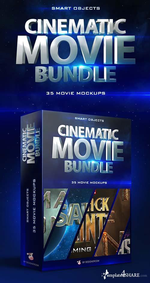 GraphicRiver Cinematic Movie Mockups Bundle