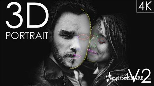 3D Portrait - After Effects Project (Videohive)