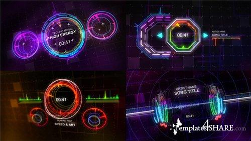 Techno Music Visualizer - After Effects Project (Videohive)