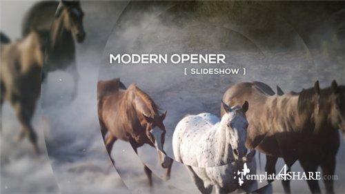 Modern Opener - Slideshow - After Effects Project (Videohive)
