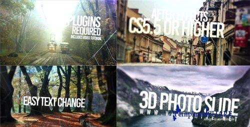 3D Slide Photo - After Effects Project (Videohive)