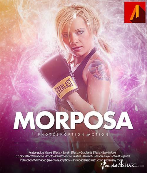 GraphicRiver Morposa Photoshop Action