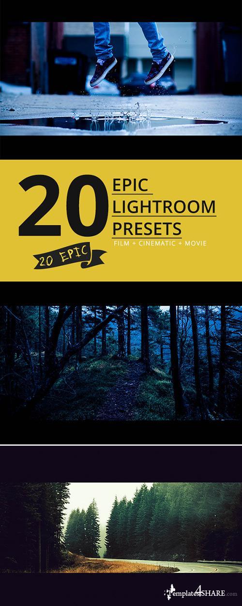 GraphicRiver 20 Epic Lightroom Presets