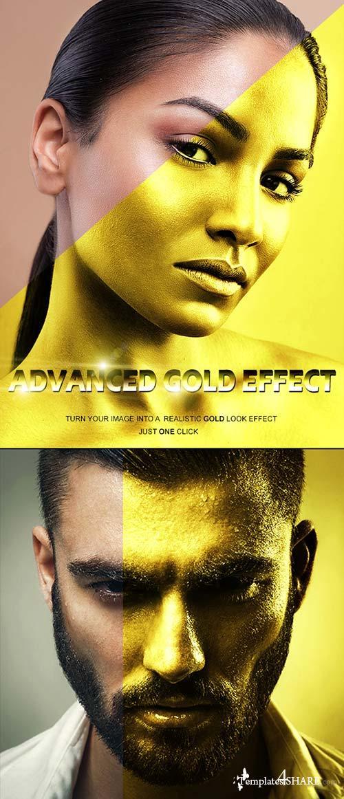 GraphicRiver Advanced Gold Effect