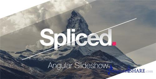 Spliced Angular Slideshow - After Effects Project (Videohive)