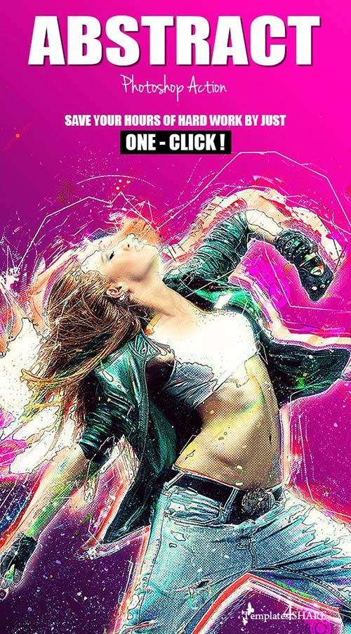 GraphicRiver Abstract V.1 - Photoshop Action