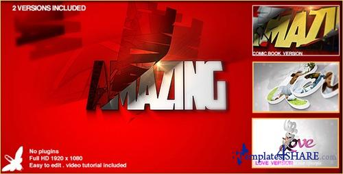 Superhero Logo - After Effects Project (Videohive)
