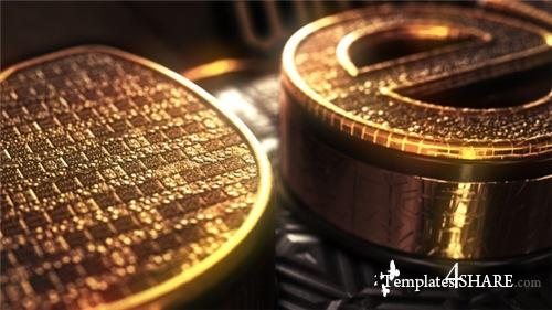 Gold Treasure Logo - After Effects Project (Videohive)