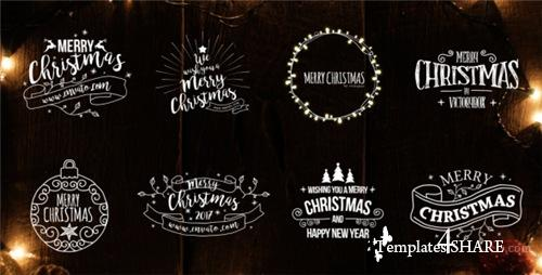 Christmas Titles - After Effects Project (Videohive)