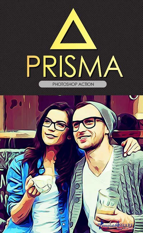 GraphicRiver Prisma Effect PS Action