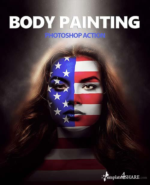 GraphicRiver Body Painting