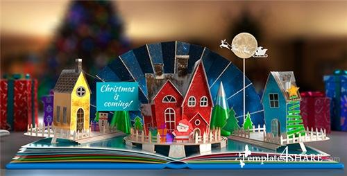 Christmas Pop-Up Book 2 - After Effects Project (Videohive)