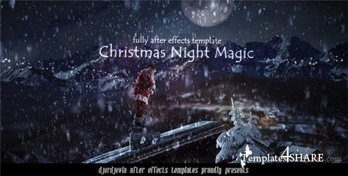Santa Claus in the New Year's Eve - After Effects Project (Videohive)