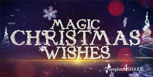 Magic Christmas Wishes - After Effects Project (Videohive)