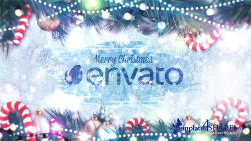 Winter Holidays Logo Reveal - After Effects Project (Videohive)