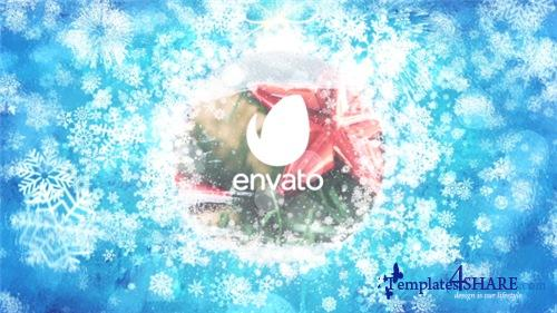 Merry Christmas Celebration Logo - After Effects Project (Videohive)