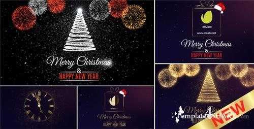 Merry Christmas Countdown - After Effects Project (Videohive)
