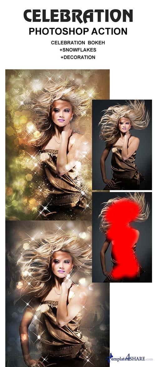 GraphicRiver Celebration Photoshop Action
