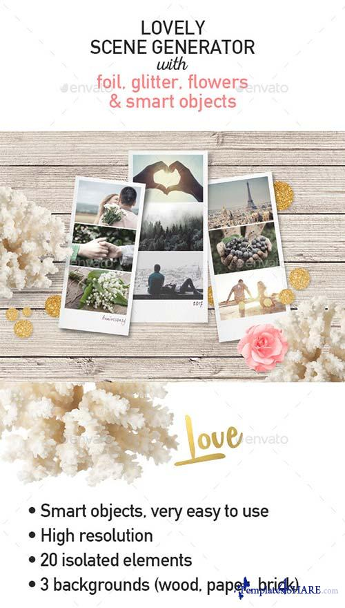 GraphicRiver Love / Valentine's Day Scene Creator
