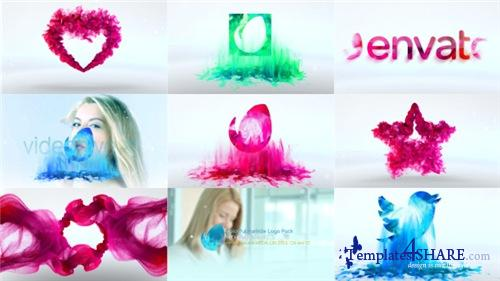 Colorful Particle Logo Pack - After Effects Project (Videohive)