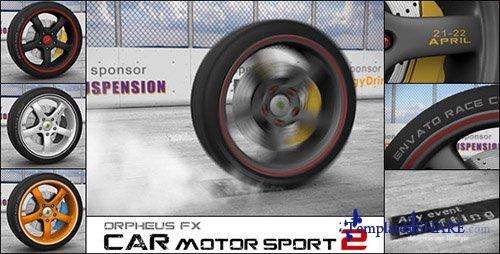 Car Motor Sport Opener 2 - After Effects Project (Videohive)