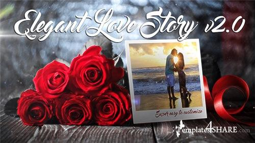 Elegant Love Story - After Effects Project (Videohive)