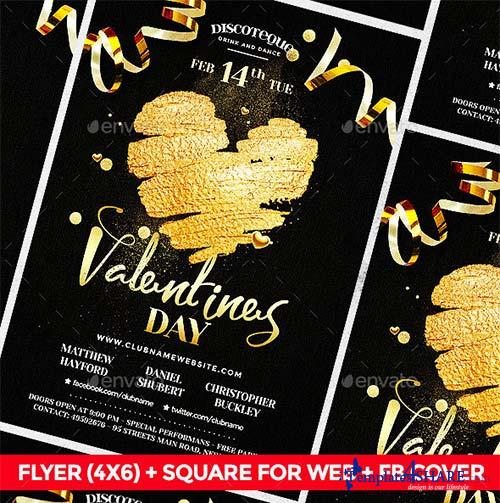GraphicRiver Valentine Flyer 19231764