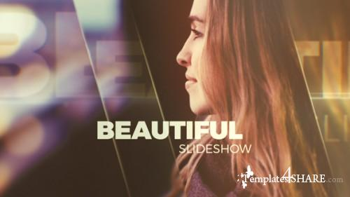 Beautiful Slideshow - Glass Opener - After Effects Project (Videohive)