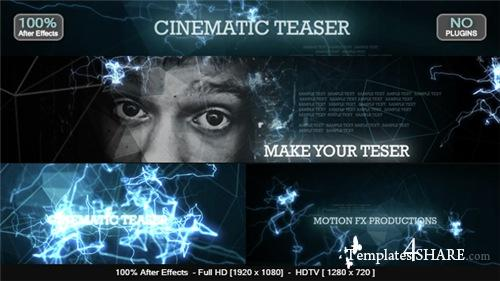 Cinematic Teaser - After Effects Project (Videohive)