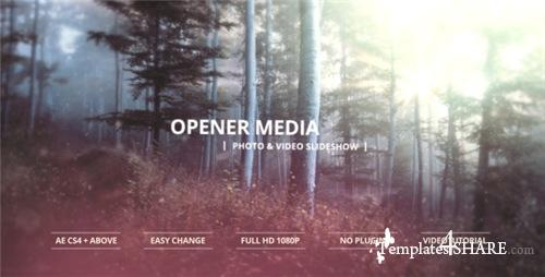 Opener Media - Photo & Video Slideshow - After Effects Project (Videohive)