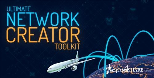 Ultimate Network Creator Toolkit - After Effects Project (Videohive)