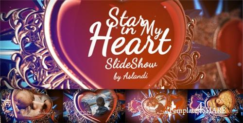 Valentine Day Star in My Heart SlideShow Photo Gallery - After Effects Project (Videohive)