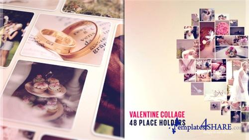 Valentine Collage - After Effects Project (Videohive)