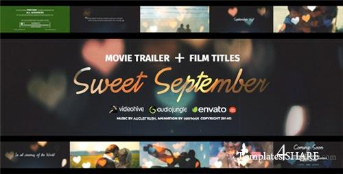 Love Story - Sweet September - After Effects Project (Videohive)