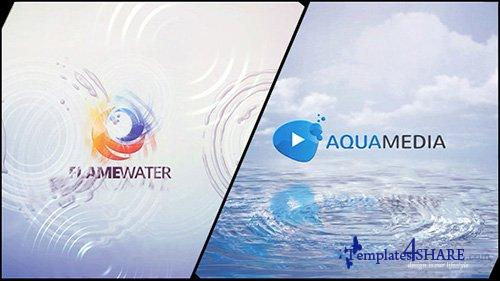 Clean Logo V03 Water Ripples - After Effects Project (Videohive)