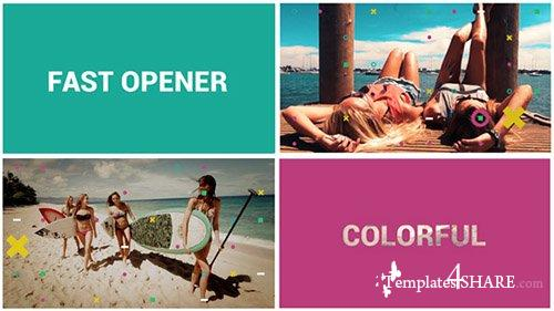 Fast Colorful Opener - After Effects Project (Videohive)