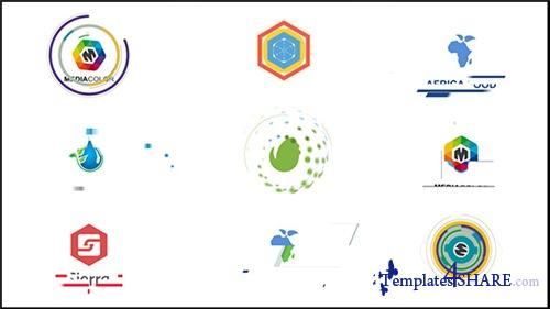 Flat Corporate Logos - After Effects Project (Videohive)