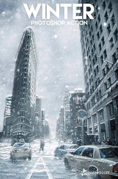 GraphicRiver Winter Photoshop Action